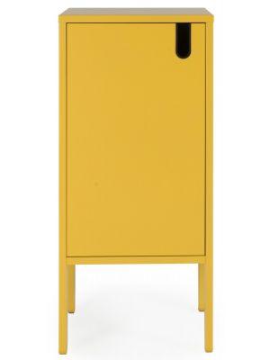 Tenzo UNO Kast - 1-Deurs - 40x40x89 - Mosterdgeel
