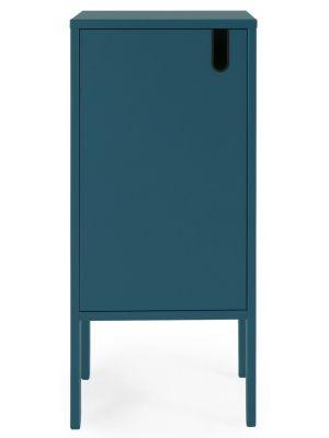 Tenzo UNO Kast - 1-Deurs - 40x40x89 - Petrol Blauw