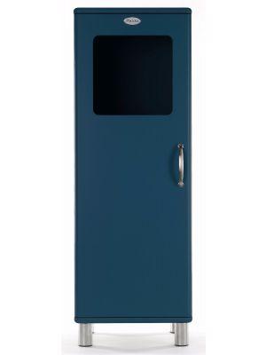 Tenzo Vitrinekast Malibu Small 1-Deurs - B50 x D41 x H143 - Petrol