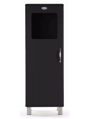 Tenzo Vitrinekast Malibu Small 1-Deurs - B50 x D41 x H143 - Zwart