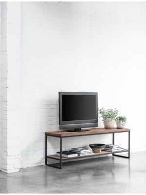 24Designs Timeless Medium Beam - TV Meubel - B150 x D40 x H50 cm - Teakhout