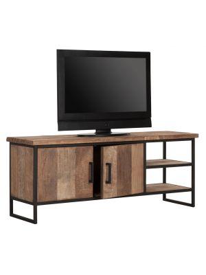 24Designs Timeless NO.2 Beam - TV Meubel - B140 x D40 x H55 cm - Teakhout