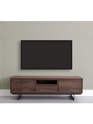 24Designs Tokyo TV-meubel - B160 x D45 x H50 cm - Amerikaans Walnootfineer