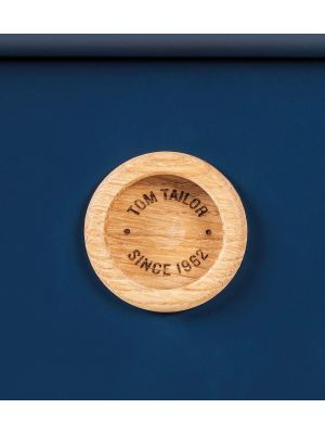 TOM TAILOR by Tenzo Color Box Kast 2-Deurs/4-Laden - B114 x D44 x H137 cm - Blauw