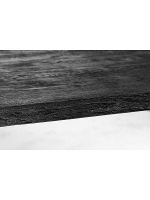 Vincent Sheppard Achille Eettafel - Zwart Eikenhout - Zwart Stalen A-frame