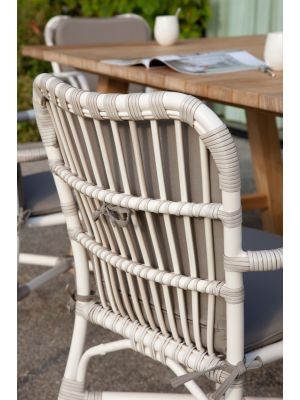 Vincent Sheppard Lucy Dining Chair - Tuinstoel - Actieset inclusief kussenset
