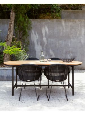Vincent Sheppard Gipsy Dining Chair - Tuinstoel - Mocca/grijs