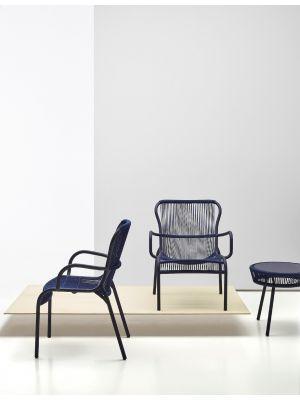 Vincent Sheppard Loop Rope Lounge Chair - Set van 2 - Indigo Blauw