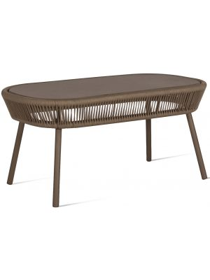 Vincent Sheppard Loop Rope Outdoor Salontafel L90 x B51 x 43 cm - Taupe