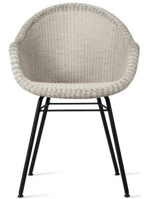 Vincent Sheppard Edgard Dining Chair - Wicker Tuinstoel - Old Lace