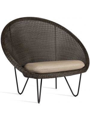 Vincent Sheppard Gipsy Cocoon Lounge Chair - Lloyd Loom - Actieset inclusief kussen