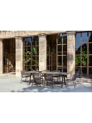 Vincent Sheppard Kodo Dining Chair Rope - Tuinstoel - Almond - Inclusief zitkussen