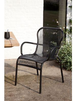 Vincent Sheppard Loop Dining Chair - Set van 2 -  Zwart