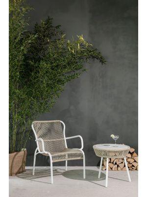 Vincent Sheppard Loop Rope Lounge Chair - Set van 2 - Beige