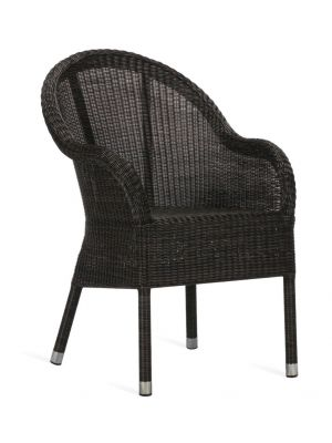 Vincent Sheppard Mia Dining Chair – Wicker Tuinstoel – Mocca – Aluminium Frame