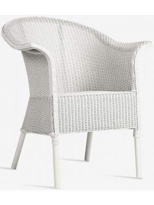 Vincent Sheppard Monte Carlo Dining Chair - Lloyd Loom Tuinstoel - Wit