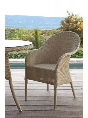 Vincent Sheppard Nice Dining Chair - Lloyd Loom Tuinstoel - Beige