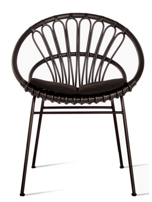 Vincent Sheppard Roxanne Dining Chair - Tuinstoel - Zwart