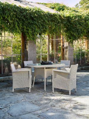 Vincent Sheppard Safi - Wicker tuinstoel (fauteuil) - Beige