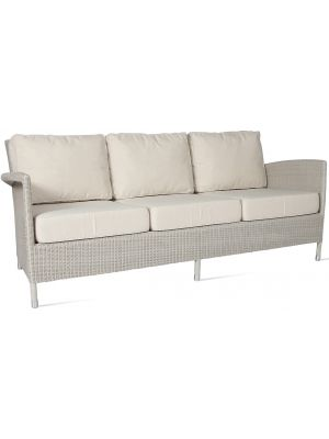 Vincent Sheppard Safi 3 zits Outdoor Loungebank - Old Lace
