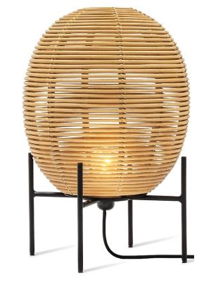 Vincent Sheppard Sari Vloerlamp Small - B30 x H50 cm - Naturel Rotan