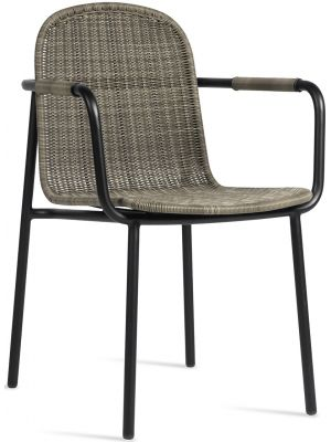 Vincent Sheppard Wicked Tuinstoel – Outdoor rotan - Taupe