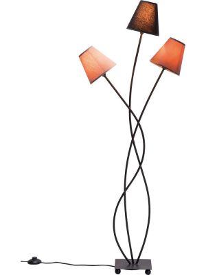 Kare Design Vloerlamp Flexible Mocca Tre 3-Lichts H130 cm - Bruin