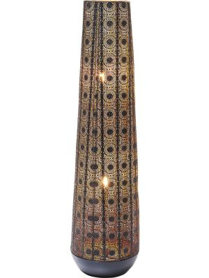 Kare Design - Vloerlamp Sultan Cone - Hoogte 120 cm - Zwart