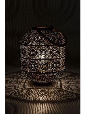 Kare Design Vloerlamp Sultan - Hoogte 30 cm - Zwart