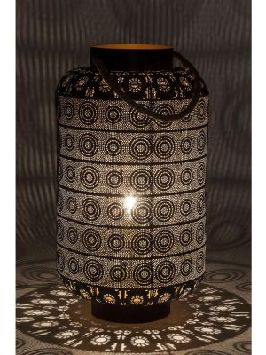 Kare Design Vloerlamp Sultans Home - Hoogte 58 cm - Zwart
