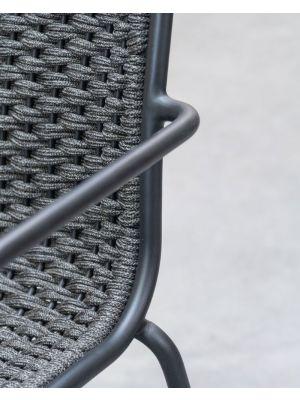 Vincent Sheppard Oscar Dining Chair - Tuinstoel - Zwart