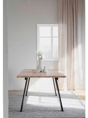 Rowico Winnipeg Verlengbare Eettafel - Whitewash Eikenfineer Blad - L200 x B100 x H75 cm