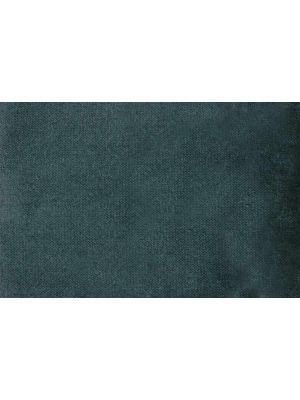 Woood Rocco Bank 2-Zits - B187 x D82 x H75 cm - Fluweel Teal - Zwarte Houten Poten