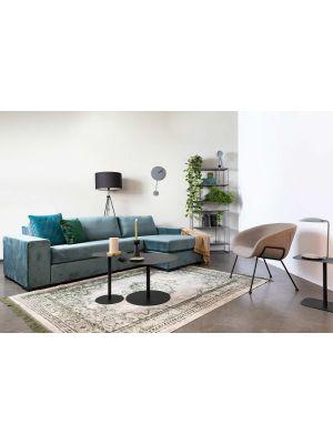 Zuiver Feston Loungestoel - Stof Grijs