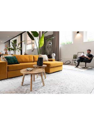 Zuiver Fiep Bank Links - Breedte 275 cm - Okergeel Fluweel