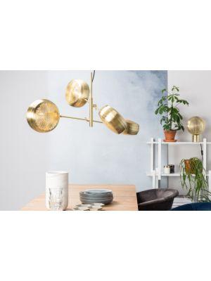 Zuiver Verstelbare Hanglamp Gringo Multi 4-Lichts Ø22.5 x H12 cm - Messing
