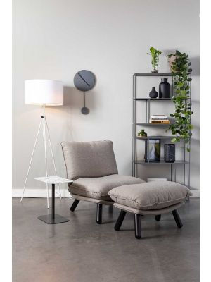 Zuiver Lesley Vloerlamp - In hoogte verstelbaar 153-181 cm - Wit