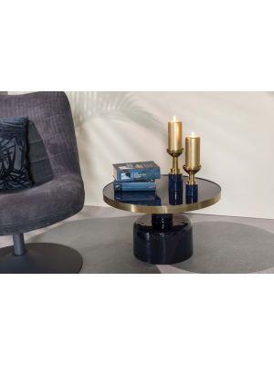 Zuiver Glam Salontafel - B60 x H35 cm - Blauw