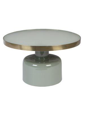 Zuiver Glam Salontafel - B60 x H35 cm - Groen