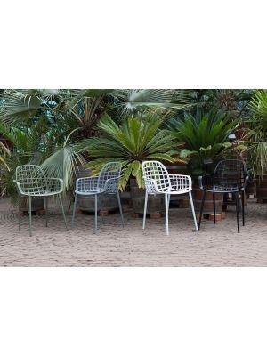 Zuiver Albert Kuip Tuinstoelen - 8 stoelen Mix aanbieding - NU met Gratis zitkussens
