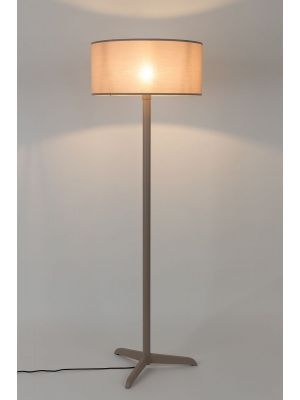 Zuiver Shelby Vloerlamp - Hoogte 155 cm - Taupe