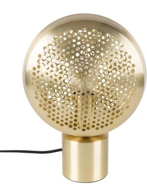 Zuiver Tafellamp Gringo 1-Lichts Ø22.5 x H30.5 cm - Messing