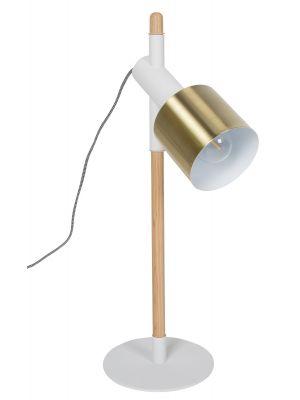 Zuiver Tafellamp Ivy - Ø20 x H60 cm - Wit