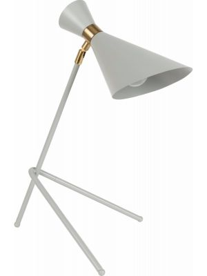Zuiver Tafellamp Shady 1-Lichts B14.5 x H52 cm - Grijs