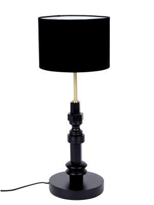 Zuiver Totem Tafellamp 1-Lichts - Ø25x64 - Zwart