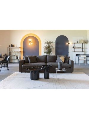 Zuiver Bliss Vloerkleed Rechthoek - L300 x B200 cm - Stof Grijs/Blauw