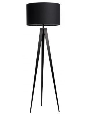 Zuiver Vloerlamp Tripod - H157 cm - Zwart