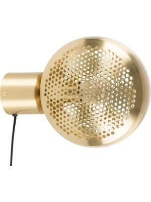 Zuiver Wandlamp Gringo 1-Lichts Ø22.5 x H12 cm - Messing
