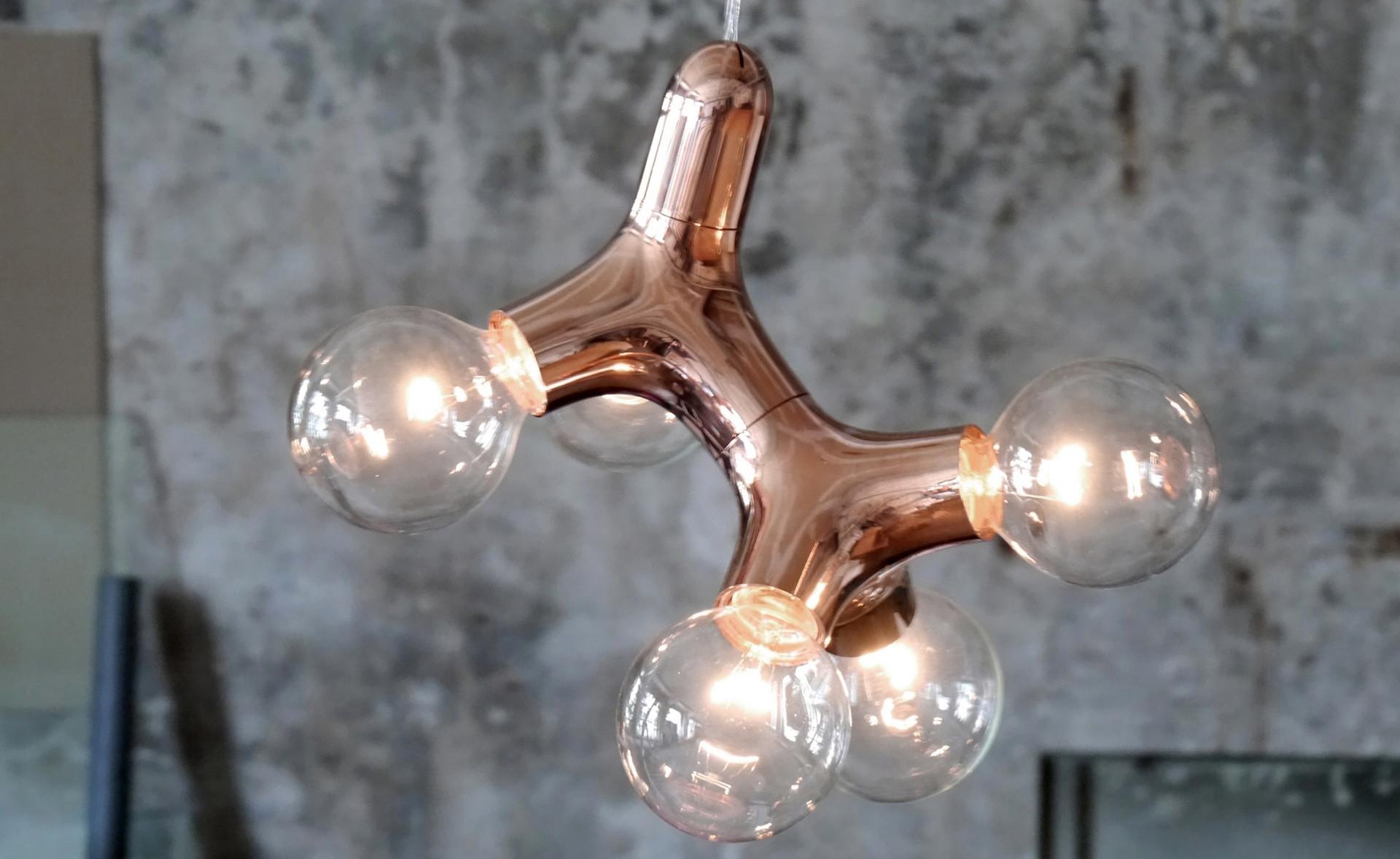 Next Design Hanglamp DNA Double - Koper