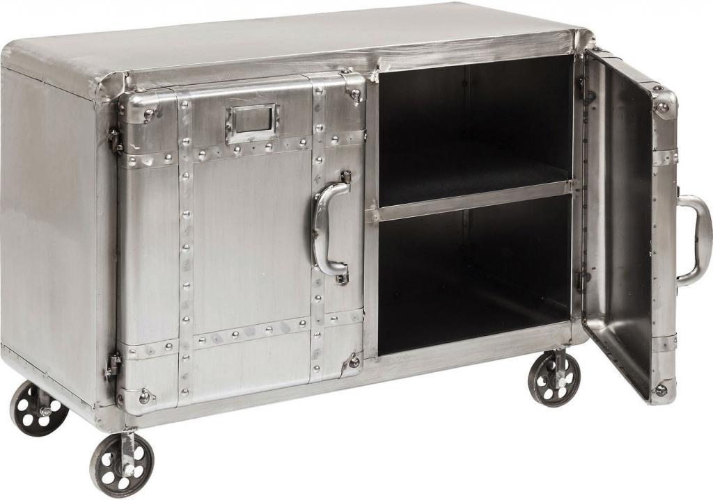 Kare Design Kastje Buster - 2-deurs - Metaal - 81 X 60 X 37 Cm